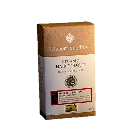 Desert Shadow Organic Hair Colour -Deep Red Shadow