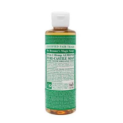 Dr Bronners - 18 in 1 Pure Castile Liquid Soap - Almond (237ml)