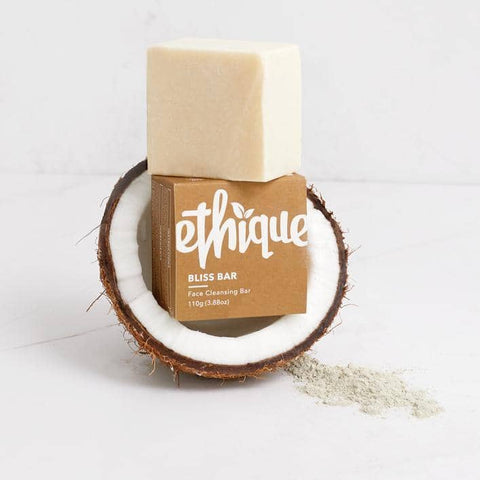 Ethique - Face Cleansing Bar - Bliss Bar for Normal to Dry Skin (110g)