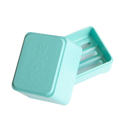 Ethique - Bamboo and Cornstarch In-Shower Container - Aqua