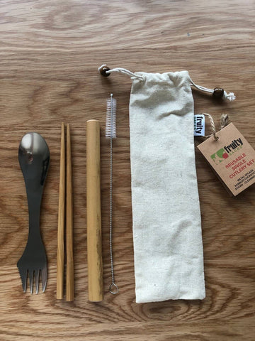 Fruity Sacks - Take Away Cutlery Set