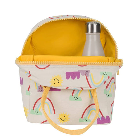 Fluf - Zipper Lunch Bag - Rainbow