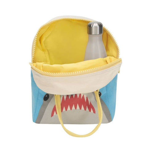 Fluf - Zipper Lunch Bag - Shark