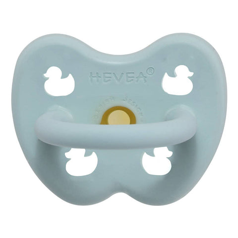 Hevea - Pacifier - Round - Baby Blue (0-3 months)