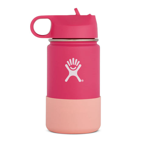 Hydro Flask - Double Insulated Wide Mouth Kids Bottle with Straw Lid - Watermelon (354ml)