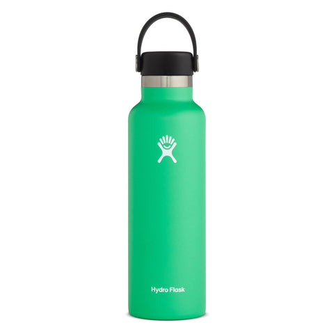 Hydro Flask - Double Insulated Standard Mouth Bottle with Flex Cap - Spearmint (621ml)
