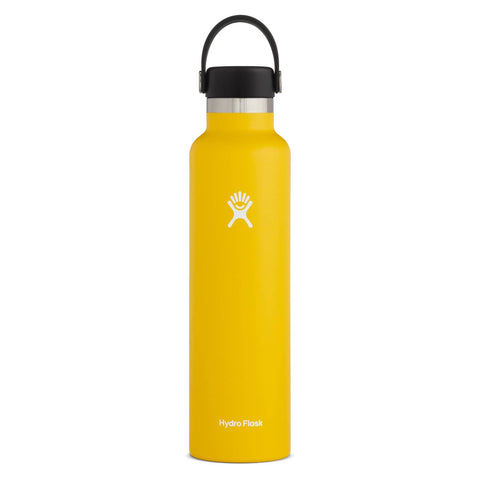 Hydro Flask - Double Insulated Standard Mouth Bottle with Flex Cap - Sunflower (709ml)