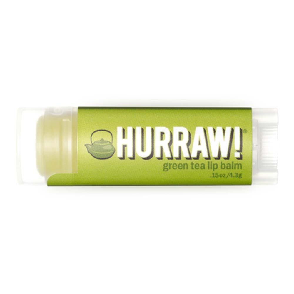 Hurraw! - Vegan Lip Balm - Green Tea (4.3g)