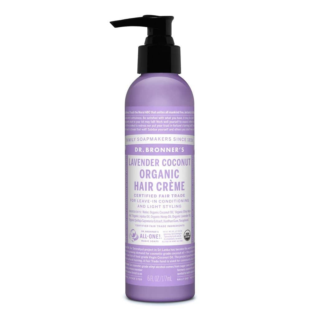 Dr Bronners - Organic Lavender Coconut Hair Creme 177ml