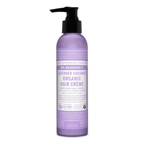 Dr Bronners - Organic Hair Creme - Lavender Coconut (177ml)
