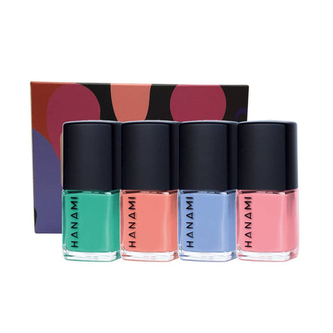 Hanami - TEN FREE Nail Polish Mini Collection - Voyage (4 x 9ml)