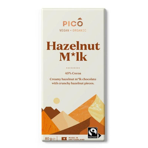 Pico - Hazelnut M*lk Chocolate (80g)