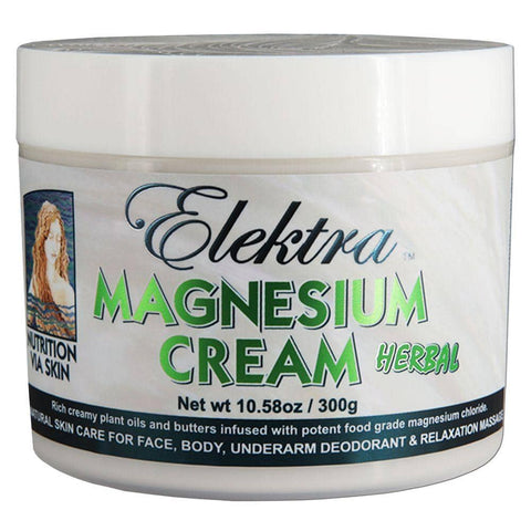 Elektra Magnesium - Magnesium Cream - Herbal (300g)