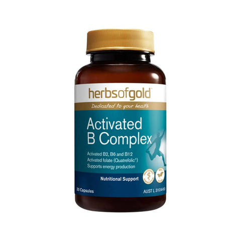 Herbs of Gold - Activated B Complex (30 capsules)