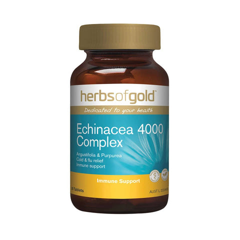 Herbs of Gold - Echinacea 4000 Complex (30 tablets)