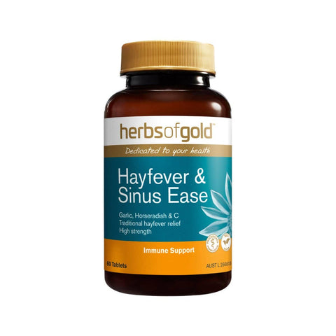 Herbs of Gold - Hayfever and Sinus Ease (60 Tablets)