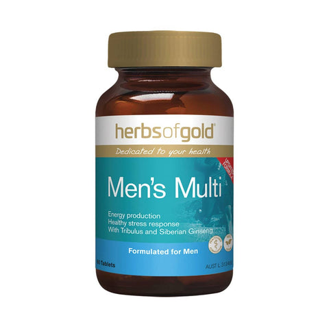 Herbs of Gold - Men's Multi + (60 tablets)