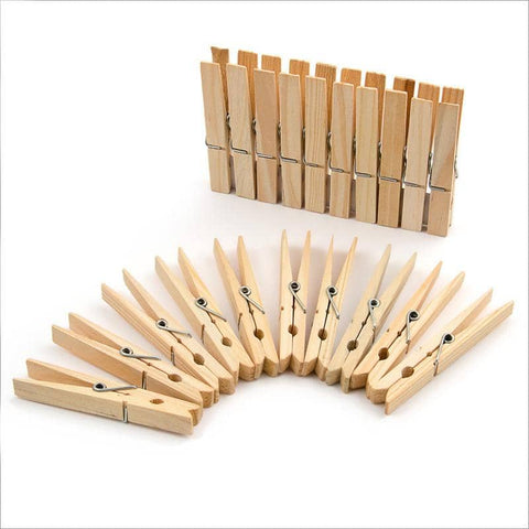 Bare & Co. - Bamboo Pegs (20 pack)