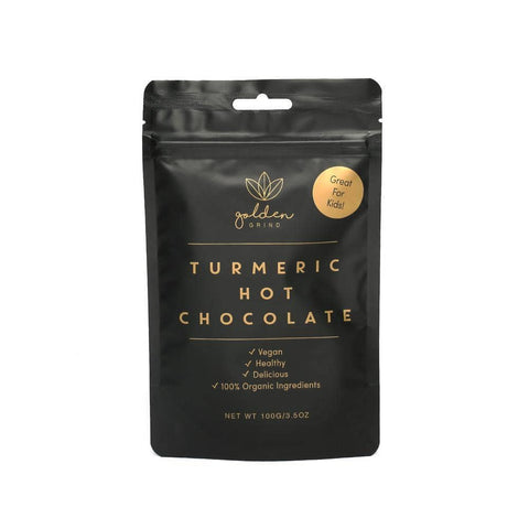 Golden Grind - Turmeric Hot Chocolate Blend 100g ( approx 40 Serves )