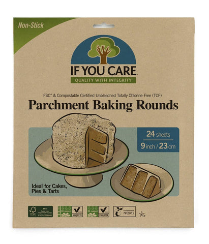 If You Care - Parchment Baking Rounds (24 sheets)