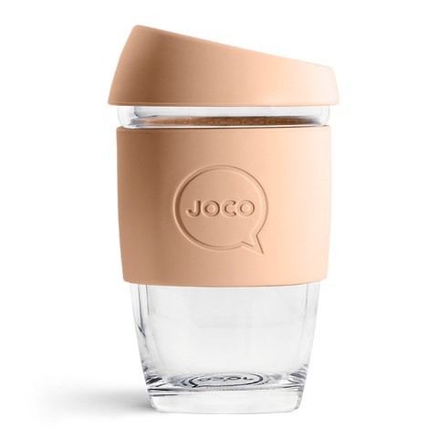 JOCO - Reusable Glass Cup - Amberlight (Extra Small 6oz)