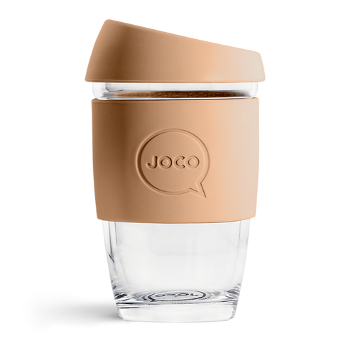 JOCO - Reusable Glass Cup - Butterum (Extra Small 6oz)