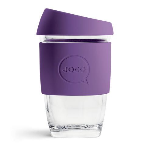 JOCO - Reusable Glass Cup - Violet (Extra Small 6oz)