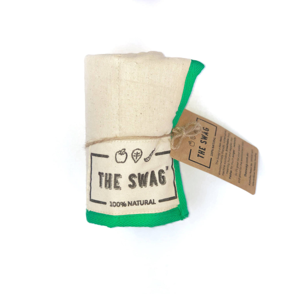 The Swag - Small Green Trim