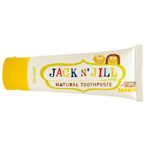 Jack N' Jill Natural Children's Toothpaste - Banana 50g
