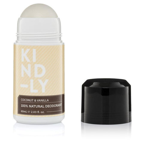 KIND-LY - Natural Deodorant - Coconut and Vanilla (60ml)