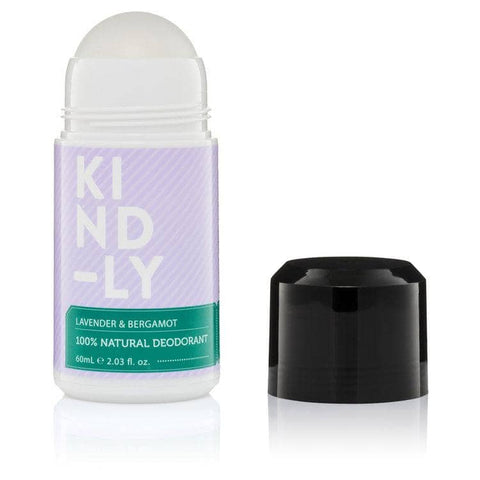 KIND-LY - Natural Deodorant - Lavender and Bergamot (60ml)