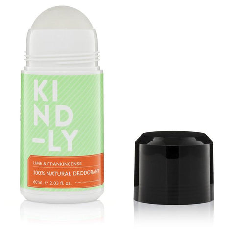 KIND-LY - Natural Deodorant - Lime and Frankincense (60ml)