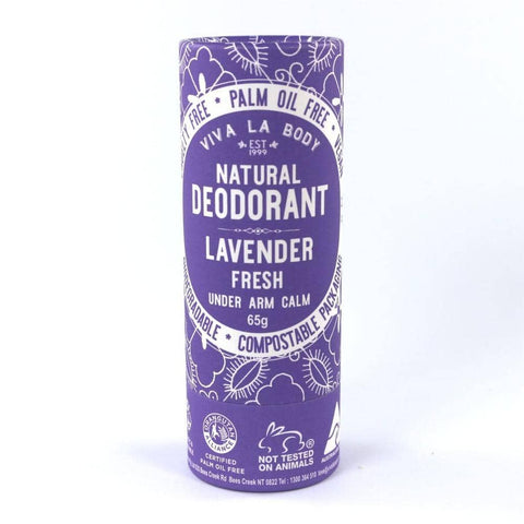 Viva La Body - Natural Deodorant - Lavender Fresh (65g)