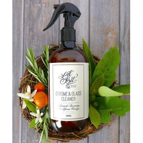 Lil Bit Better - Spanish Rosemary & Sweet Orange Chrome and Glass Cleaner (500ml)