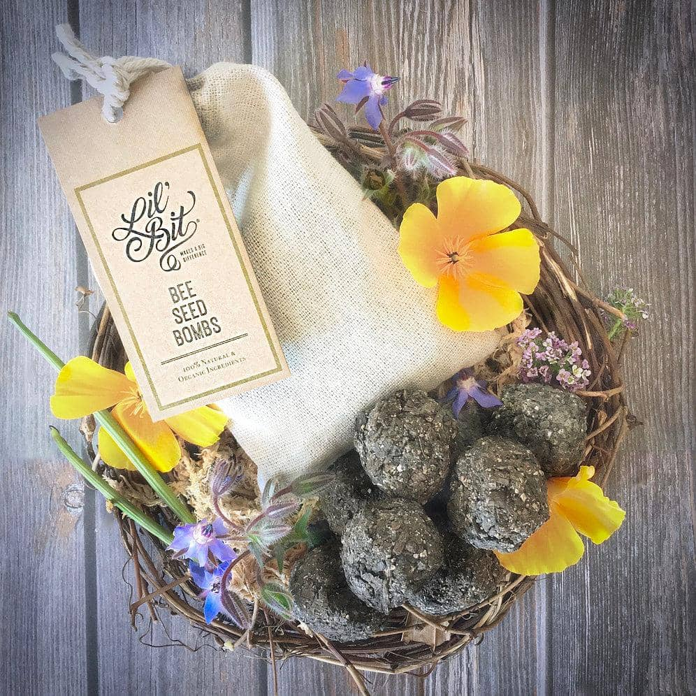 Lil Bit Better - Bee Seed Bombs (6 pack)