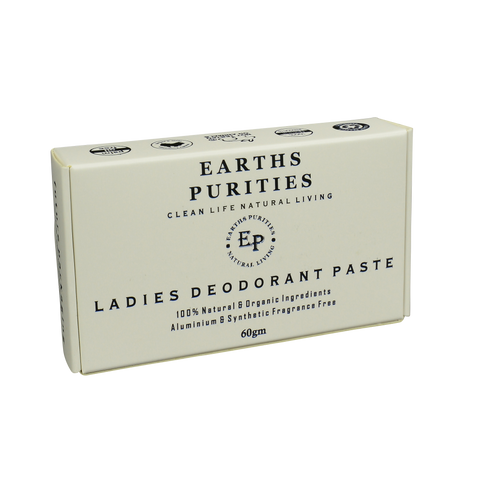 Earth Purities - Ladies Deodorant Paste (60g)