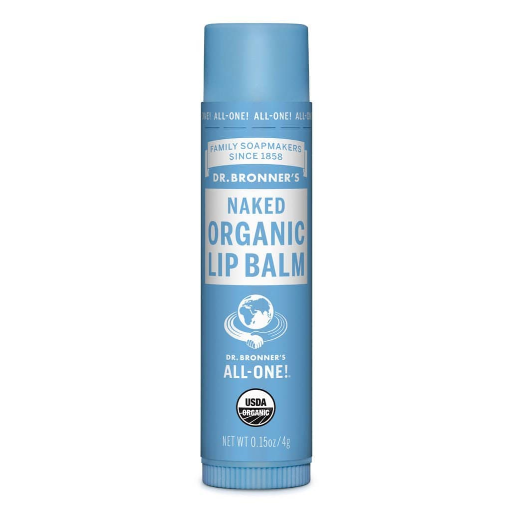 Dr Bronner's Organic Lip Balm - Naked   Stay At Home Mum