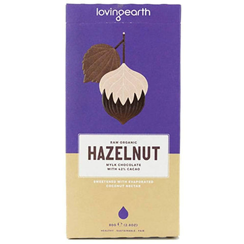 Loving Earth - Hazelnut Chocolate (80g)