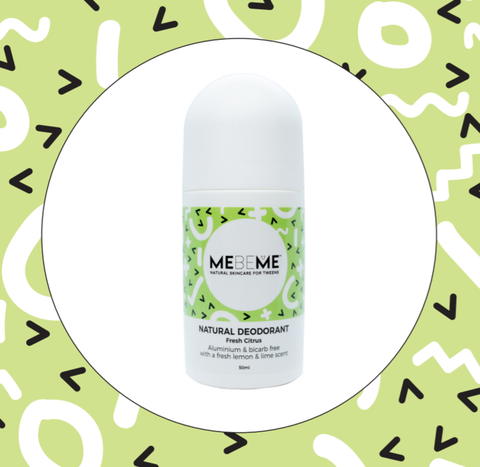 MEBEME - Natural Deodorant - Fresh Citrus (50ml)