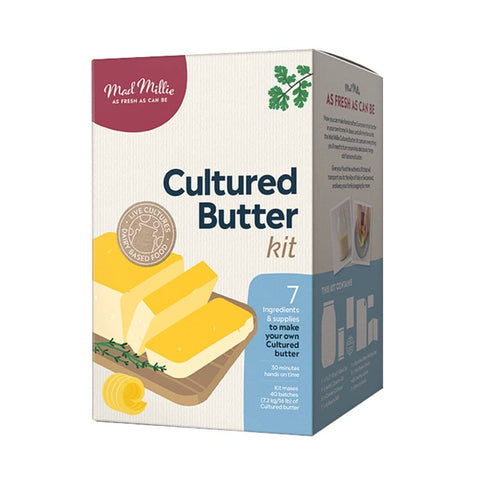 Mad Millie - Cultured Butter Kit