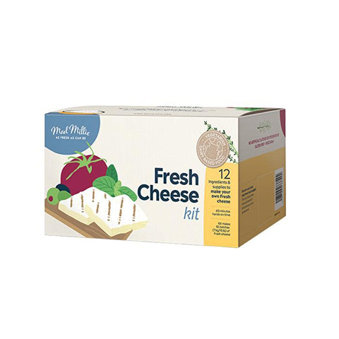 Mad Millie - Fresh Cheese Making Kit