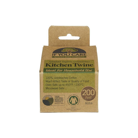 If You Care - Organic Unbleached Kitchen Twine (60.8m)