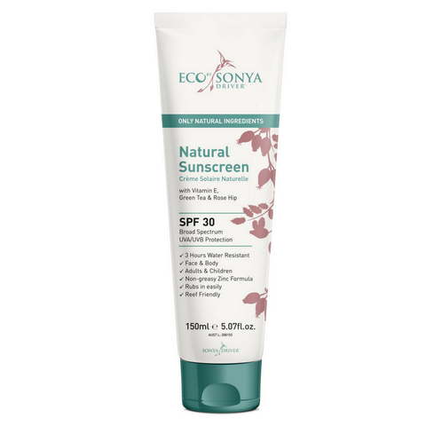 Eco by Sonya Driver - Natural Rosehip Sunscreen SPF 30 (150ml)