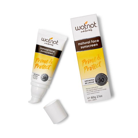 Wot Not - Natural Face Sunscreen & Untinted BB Cream (60g)