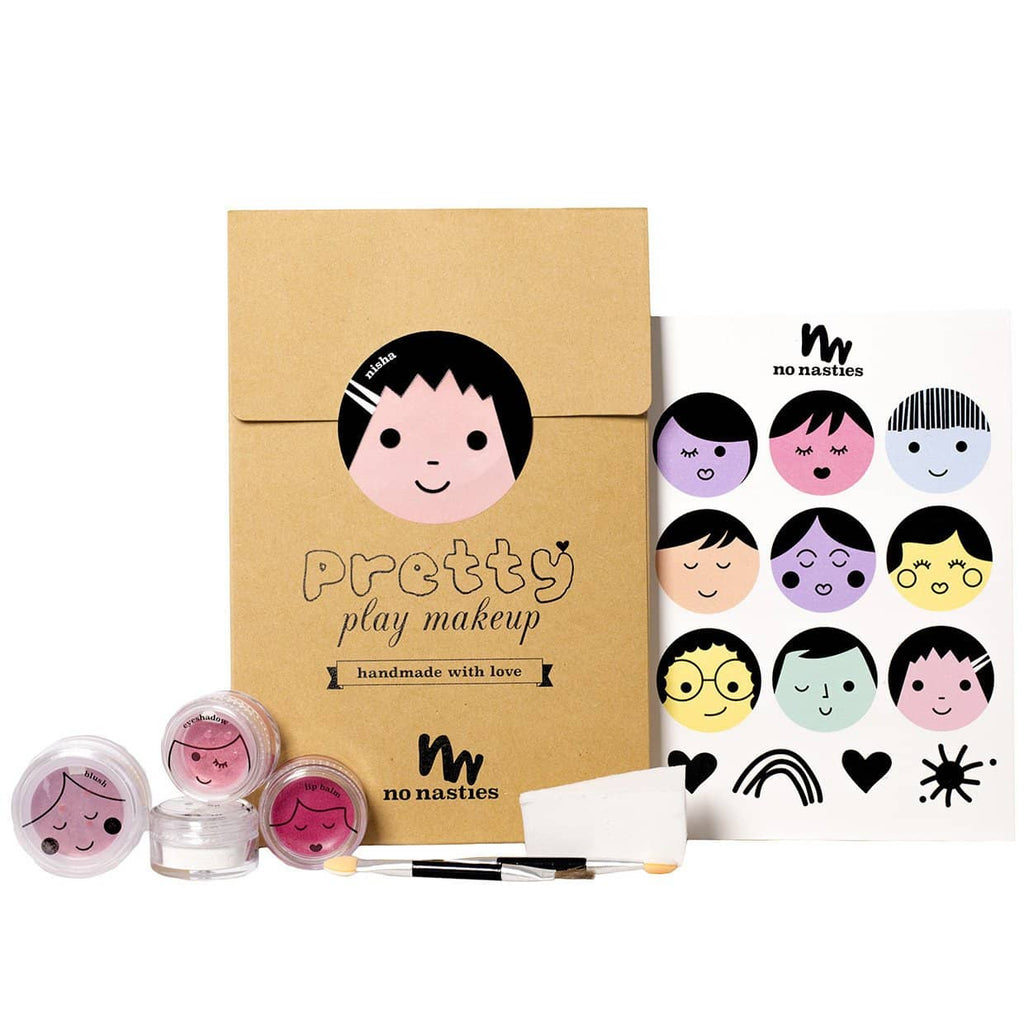 No Nasties Make Up - 'Nisha' Pink Pretty Play Makeup Goody Pack