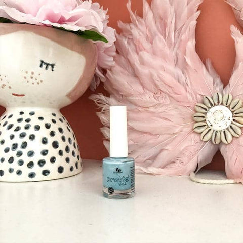 No Nasties - Pretty Polish Water-Based Peelable Nail Polish - Teal (8.5ml)