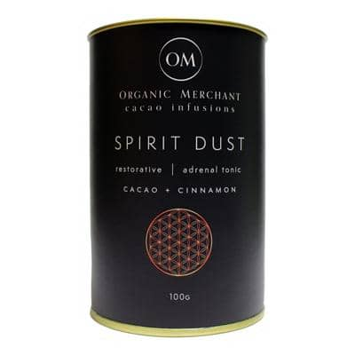 Organic Merchant - Spirit Dust - Cacao and Cinnamon (100g)