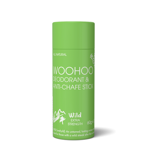 Woohoo Body - Eco Tube Deodorant & Chafe Stick - Wild (60g)