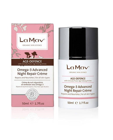 La Mav - Omega 3 Advanced Nightly Repair Creme