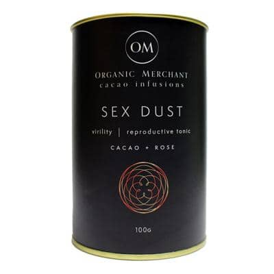 Organic Merchant - Sex Dust - Maca, Cacao and Rose (100g)